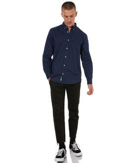BLUE MENS CLOTHING CARHARTT SHIRTS - I02333901