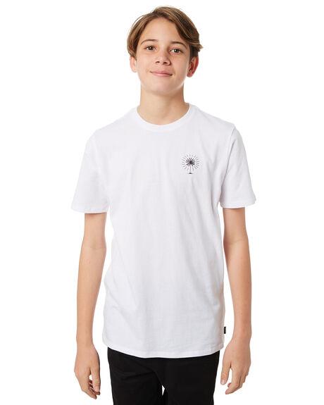 WHITE KIDS BOYS SWELL TOPS - S3184023WHITE