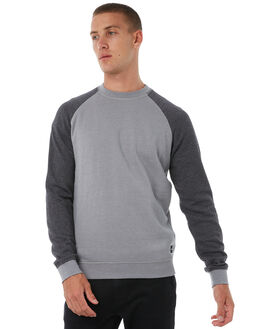 GREY HEATHER OUTLET MENS HURLEY JUMPERS - AJ2212050