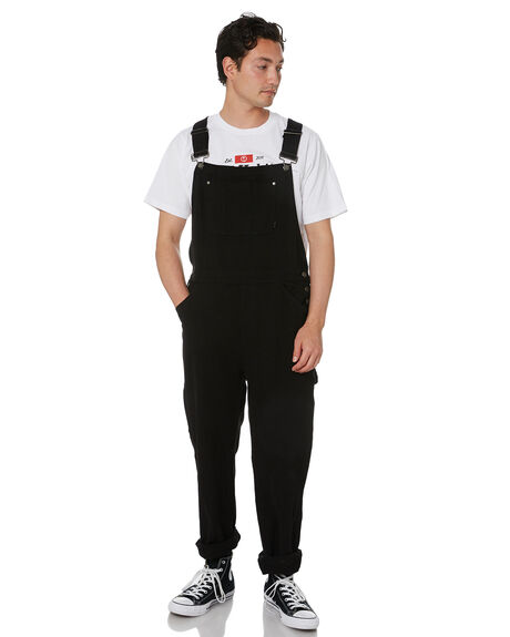 BLACK MENS CLOTHING THRILLS PANTS - TDP-904BBLK