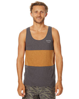 CHAR MENS CLOTHING RHYTHM SINGLETS - JAN17-CS04CHAR