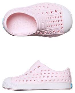 MILK PINK KIDS TODDLER GIRLS NATIVE FOOTWEAR - 13100100-6801