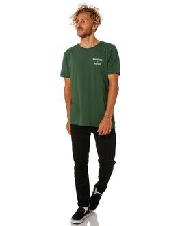 GREEN MENS CLOTHING KATIN TEES - TSKBL02GREEN