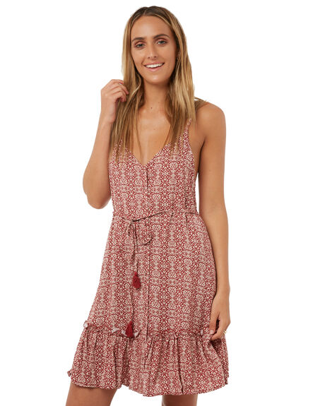 TILE PRINT WOMENS CLOTHING ALL ABOUT EVE DRESSES - 6403060TLEP