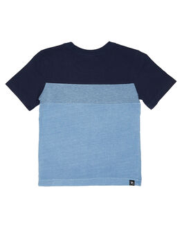 DENIM BLUE KIDS BOYS RIP CURL TOPS - OTEPW24983