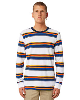 WHITE MENS CLOTHING ADIDAS TEES - DH6648WHT