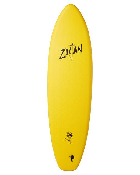 YELLOW BLACK BOARDSPORTS SURF DRAG SOFTBOARDS - DBCZOLTAN60YELBK