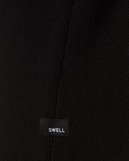 BLACK MENS CLOTHING SWELL KNITS + CARDIGANS - S5162149BLK