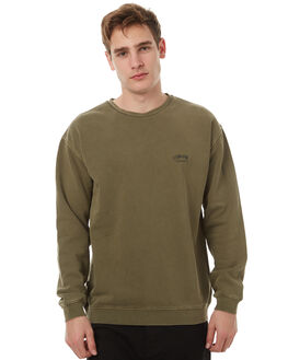 DIRTY MILITARY MENS CLOTHING STUSSY JUMPERS - ST071212DMIL