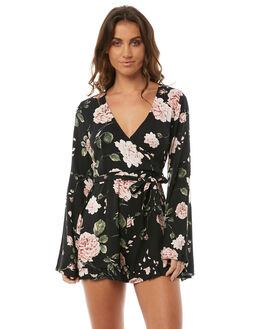 MULTI WOMENS CLOTHING SOMEDAYS LOVIN PLAYSUITS + OVERALLS - IL18S1474MULTI