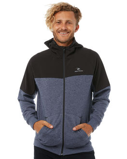 NAVY MARLE MENS CLOTHING RIP CURL JUMPERS - CFEIC13277