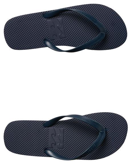 NAVY MENS FOOTWEAR BILLABONG THONGS - 9685932NVY