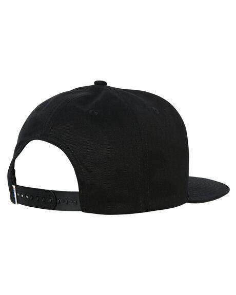 BLACK MENS ACCESSORIES STUSSY HEADWEAR - ST765006BLK