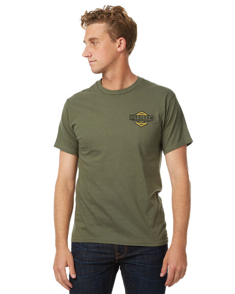 MILITARY MENS CLOTHING VOLCOM TEES - A35217G1MILIT