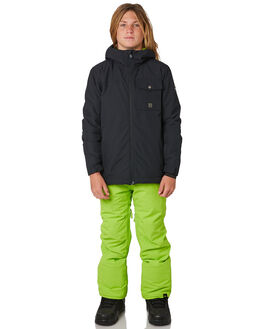 LIME GREEN BOARDSPORTS SNOW QUIKSILVER KIDS - EQBTP03018GKC0