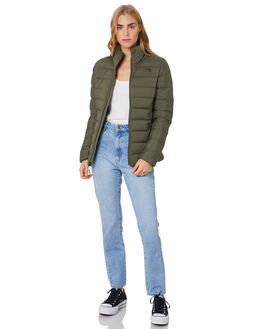 NEW TAUPE GREEN WOMENS CLOTHING THE NORTH FACE JACKETS - NF0A3O7E21L