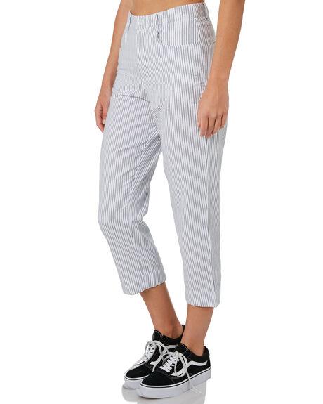 WHITE WOMENS CLOTHING ELEMENT PANTS - 284244WHT