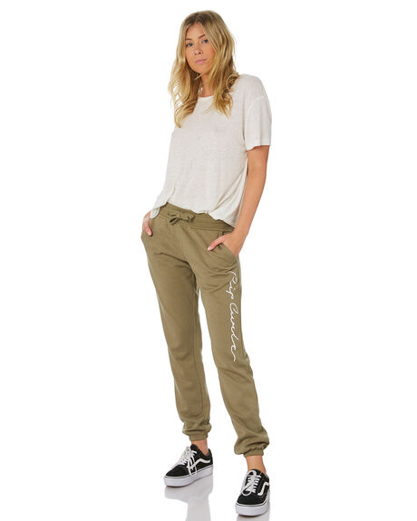 DARK GREEN WOMENS CLOTHING RIP CURL PANTS - GPAFA11628