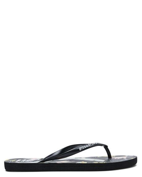 BLACK MINT WOMENS FOOTWEAR BILLABONG THONGS - 6617804BLKM
