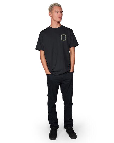 BLACK MENS CLOTHING BILLABONG TEES - BB-9507036-BLK