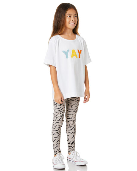 MUSHROOM TIGER KIDS GIRLS MUNSTER KIDS PANTS - MM201LE08KMSHTG