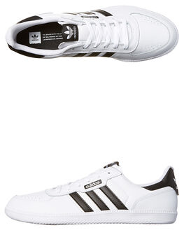 WHITE BLACK WOMENS FOOTWEAR ADIDAS ORIGINALS SNEAKERS - SSBB8533WHIW