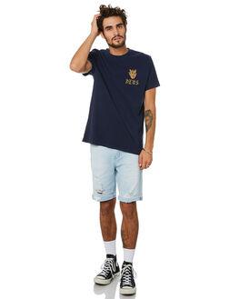 NAVY MENS CLOTHING DEUS EX MACHINA TEES - DMP201467NVY