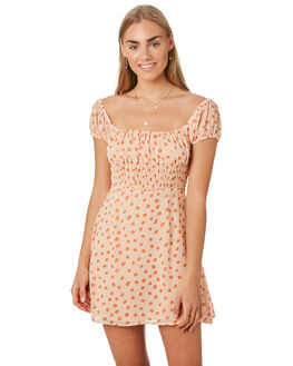 PRINT WOMENS CLOTHING LULU AND ROSE DRESSES - LU23828PRNT