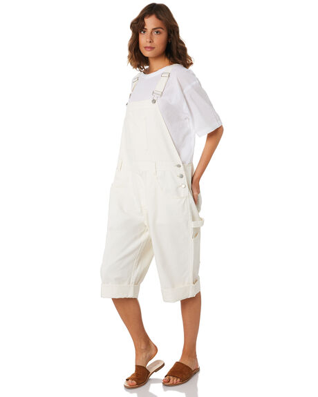IVORY WOMENS CLOTHING ZULU AND ZEPHYR PLAYSUITS + OVERALLS - ZZ2273IVO