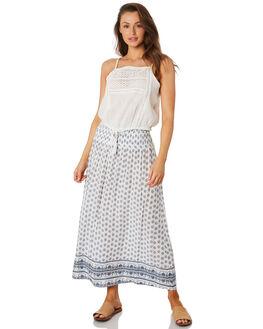 WHITE WOMENS CLOTHING RIP CURL SKIRTS - GSKDJ11000