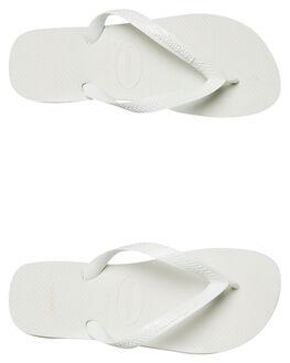 WHITE MENS FOOTWEAR HAVAIANAS THONGS - 40000290001