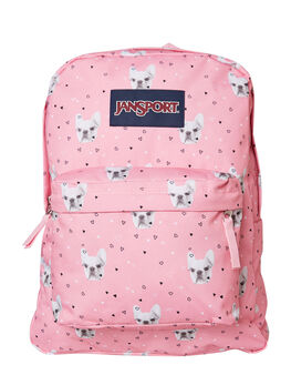 FIERCE FRENCHIES WOMENS ACCESSORIES JANSPORT BAGS + BACKPACKS - JST501-JS4P6FRC