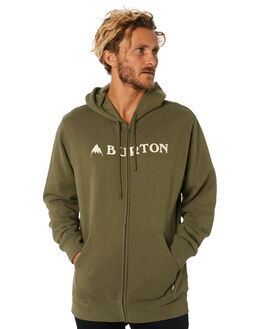 DUSTY OLIVE MENS CLOTHING BURTON JUMPERS - 203741300
