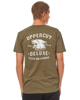 ARMY MENS CLOTHING UPPERCUT TEES - UPDTS0534ARMY