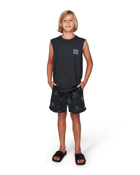 BLACK KIDS BOYS BILLABONG TOPS - BB-8592505-BLK
