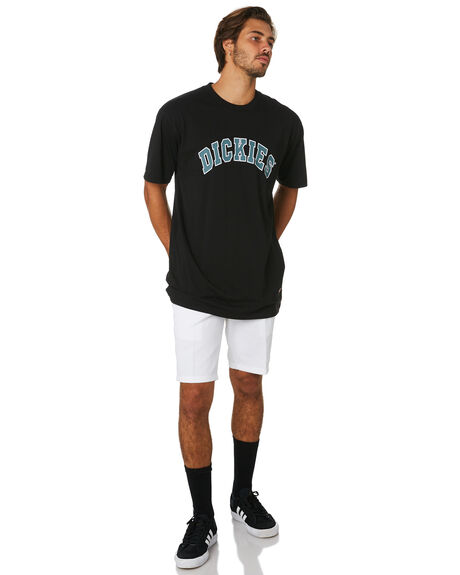 WHITE OUTLET MENS DICKIES SHORTS - WR872WHI