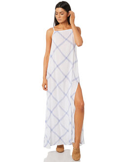 CORNFLOWER BLUE OUTLET WOMENS RUSTY DRESSES - SCL0303CFB