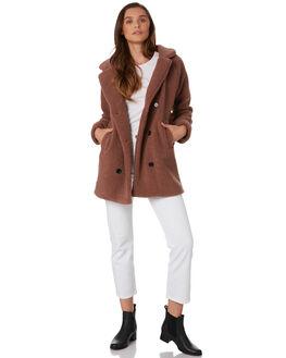MAUVE WOMENS CLOTHING ELWOOD JACKETS - W92510O80