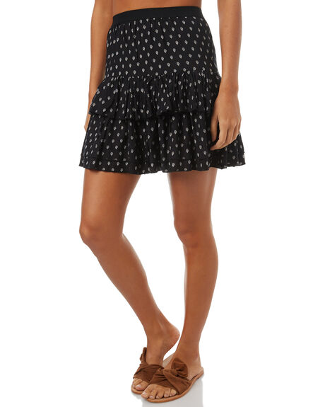 BLACK OUTLET WOMENS SWELL SKIRTS - S8174471BLK