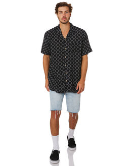 BLACK MENS CLOTHING ST GOLIATH SHIRTS - 4341067BLK