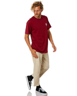 TIBETIAN RED MENS CLOTHING LOWER TEES - LO18Q4MTS08TBRED