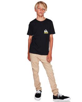 BLACK KIDS BOYS QUIKSILVER TOPS - EQBZT04055-KVJ0