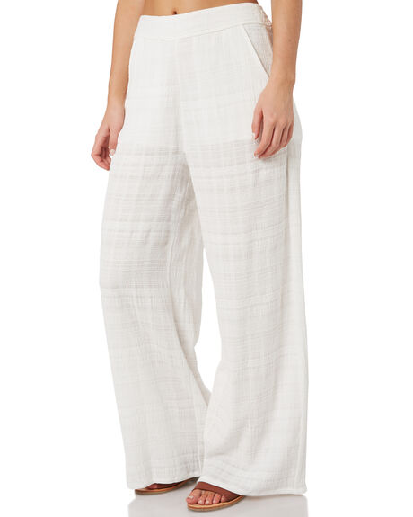 VINTAGE CREAM WOMENS CLOTHING RUSTY PANTS - SCL0316VTC