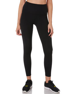 BLACK WOMENS CLOTHING LORNA JANE ACTIVEWEAR - 071909BLK