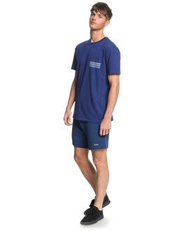 TOKOLO INDIGO MENS CLOTHING QUIKSILVER TEES - EQYKT04014-BTA0