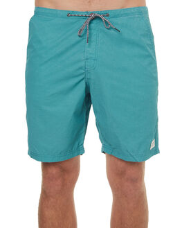 GREEN MENS CLOTHING KATIN BOARDSHORTS - TRBEACHSHORTGRN