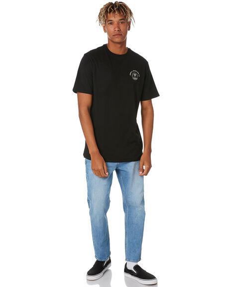 BLACK MENS CLOTHING SWELL TEES - S5211001BLACK