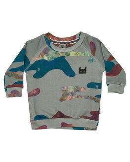 CAMO KIDS BABY MUNSTER KIDS CLOTHING - MI182FL02CAM
