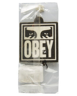 BLACK WHITE MENS ACCESSORIES OBEY OTHER - 100680001BKWT