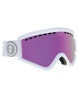 MATTE WHITE PINK BOARDSPORTS SNOW ELECTRIC GOGGLES - EG1318103MWHIP